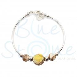 Silver Tube Bracelet B3148