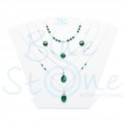 Bundle von 4 Halskette Green CO1907GPB