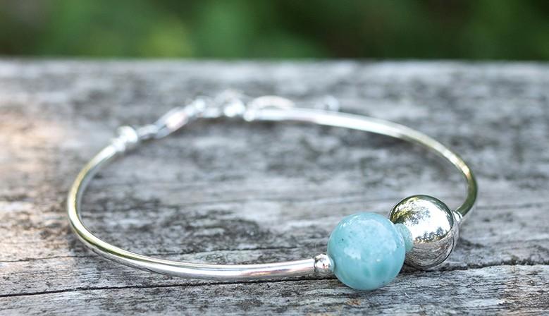 Le bracelet Larimar